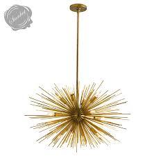 astra mid century sputnik chandelier