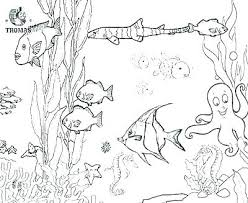 Free Printable Ocean Coloring Pages For Kids Underwater O