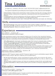 Best Executive Assistant Resume Executive Administrative Assistant