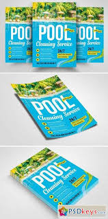 Pool Cleaning Service Flyer Template 2356695 Free Download