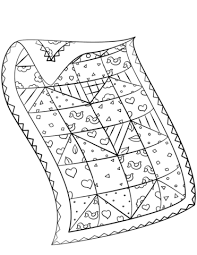 Print out these free coloring pages to entertain your kids. Printable Quilt Patterns Coloring Pages