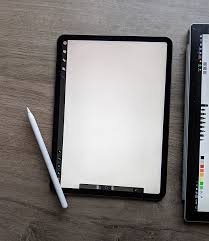 Drawing On Ipad Pro Side By Side Comparison Of Digital Drawing On The Surface