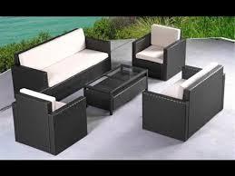 Patio Furniture Wicker 6pc Sectional Sofa Set Outdoor Wicker Patio Black Outdoor Wicker Furniture
