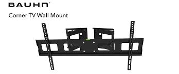 corner tv wall mount bauhn