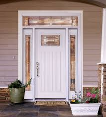 white front doorsFeather River Door Fiberglass Entry Doors  Smooth White D  Flickr