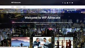 the best wordpress themes advocate is a wordpress theme completely suited for corporate websites it s professional look will surely make law and accounting firms go gaga