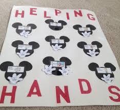 Disney Mickey Helping Hands Job Chart