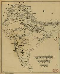 Ancient Maps India Timeline Ramayana Mahabharata India Map