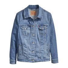 levi s plus trucker jacket in starry tune