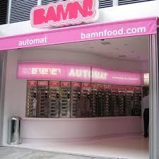 Vending Machine Restaurant Nyc Simple Bamn The Automat Lives The Shophound