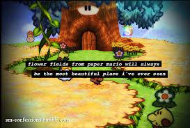 Flower Fields Paper Mario Super Mario Confessions