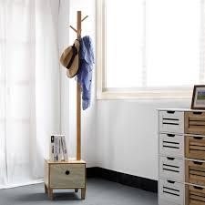 Coat Rack Cabinet Cabinet Solid Wood Living Room Coat Rack Display Stands Scarves Hats 45
