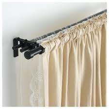 black shower curtain rods images