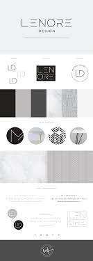 Brand Launch: Lenore Interior Design - Salted Ink Design Co. | logo, brand