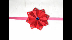 Red Colour Chart Paper How To Make Colour Chart Paper Rakhi At Home Full Tutorial By Sugi Majhi