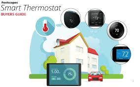 Honeywell Thermostat Comparison Chart Top Iot Smart Thermostats 2019 Reviews And Comparison Guide
