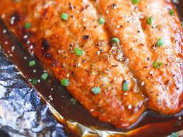 Asian Salmon in Foil Recipe and ...