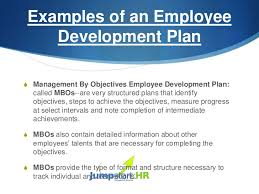 personal development plans sample 5 employee development plan template