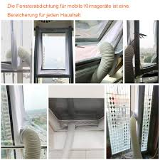 Jteng Fensterabdichtung Für Mobile Klimageräte Und Abluft