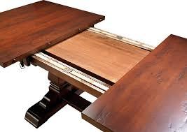 dining table with self storing leaves goldhistorynow