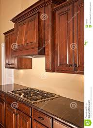 Range Hood Kitchen Modern Kitchen Cabinets Range Hood Stock Photo Image 9908430