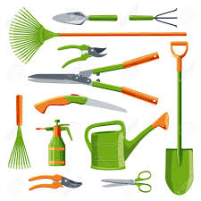 essential gardening tools. Delighful Gardening Essential Gardening Tools Kit Vector Set Isolated On White Stock Vector   69238149 Throughout Gardening Tools L