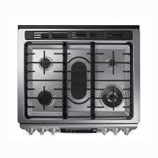 Pc Richards Kitchen Appliances Samsung 30 Slide In Gas Range Stainless Steel Pcrichardcom