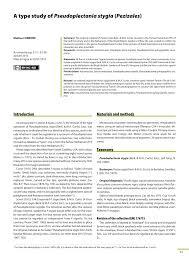 A Type Study Of Pseudoplectania Stygia Pezizales Pdf Download