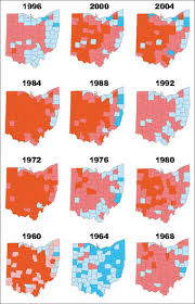 Presidental Election Results Ohio Presidential Election Results Since 1960 Statistical Snapshot