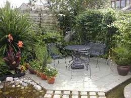 Small Picture Small Patio Garden Designs Best Design Ideas For Garden Pamelas