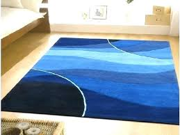 royal blue area rug cozy latitude run heineman solid hand bright blue area rug shuff