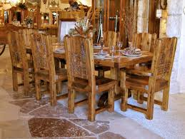 Cool Rustic Kitchen Table With Bench Dallas Designer Furniture