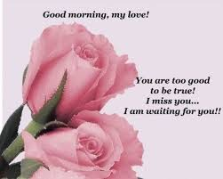 Good Morning Love Quotes For Her Mesmerizing Romantic Good Morning Love Images For Him And Her