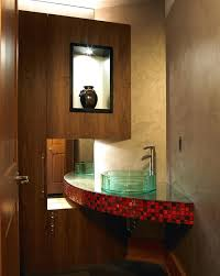bathroom modern sinks. Corner Sinks For Bathroom Modern With Baseboards Sink Exposed Image By The Sky Is Limit Design
