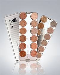 amazon kryolan ultra foundation 24 color palette makeup 9008 beauty s beauty