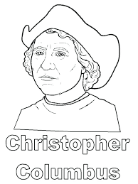 Christopher Columbus Coloring Lovely Coloring Pages On Day Free ...