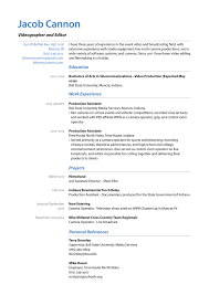Jacob Cannon Resume