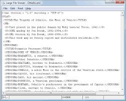 Viewing Xml File Large File Viewer