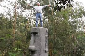 handyman reader on his statue handyman