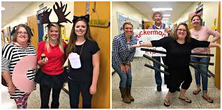 my teaching partner bestie primary scribbles and i like to make our costumes go together the past couple of years we joined 3rd grade to add to our mix
