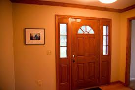 how to paint fiberglass door and oak trim how to paint fiberglass door by home