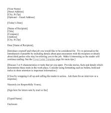 ... Do You Need A Cover Letter For An Interview 16 Cover Example Resume  Best ...