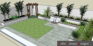 Rathfarnham Low Maintenance Garden Design Colin Cooney Designs Mesmerizing Low Maintenance Gardens Ideas Design