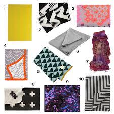 modern throw blanket. Interesting Blanket 10 Cozy Modern Throws To Keep You Warm With Throw Blanket