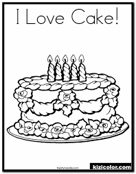 Grizzy and the lemmings coloring pages | new images free printable. Cake Coloring Pages Printable 13 Cake Coloring Pages Kizi Free 2021 Printable Super Coloring Pages For Children Coloring Pages