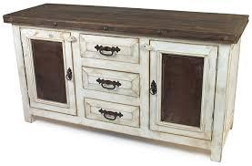 White washed furniture Corona Somsakinfo Rustic Wood Whitewashed Sideboard With Tin And Iron