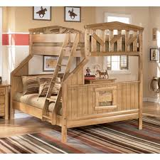 image of rustic ashley furniture bunk beds
