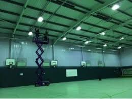 Perry Fields School Sports Hall | IHP - Infrared Heating Products