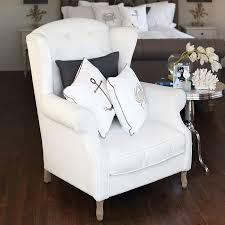 white wingback chair. Emerson_wingback_chair_white_3.jpg White Wingback Chair C