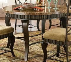 image of round marble table stylish